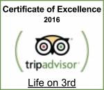 Trip Advisor - Life on 3rd Guesthouse